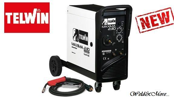 MAXIMA 230 Synergic - Aparat sudura multiproces TELWIN MIG-MAG/MMA/TIG