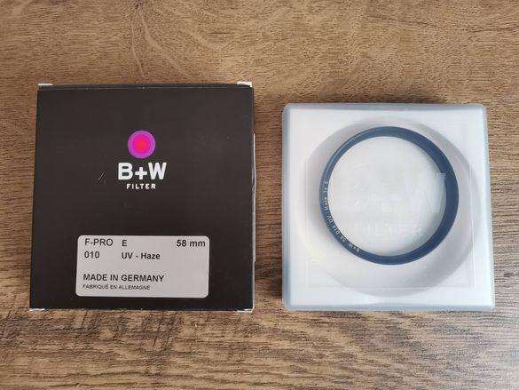 Филтър B+W F-PRO E 58mm 010 UV HAZE