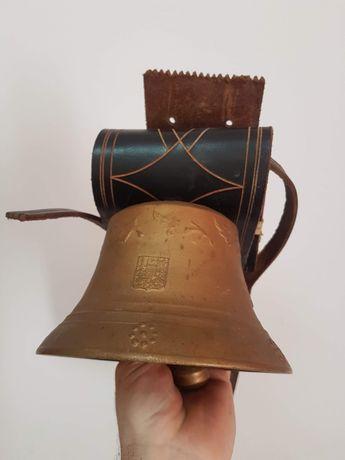 Clopot vechi de 100 de ani German IHS din bronz
