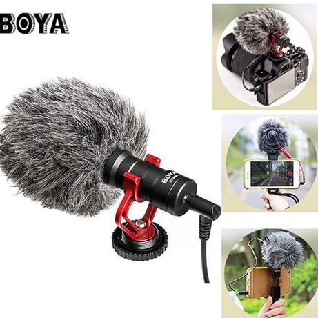 BOYA BY-MM1 Microfon condenser directional, pt foto DSLR, smartphone