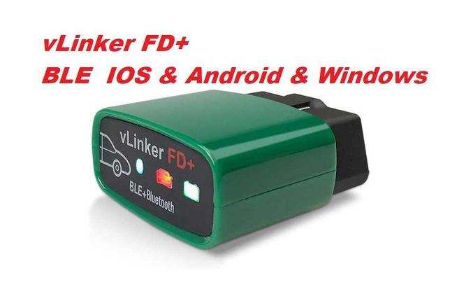 vLinker FD+ Ford Mazda , BLE + BT Android & IOS & Win Made for FORScan