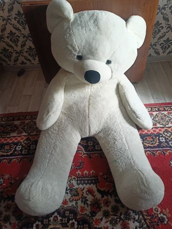 Мягкий игрушка большой белый медвед