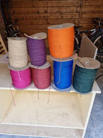 Șnur colorat diverse culori