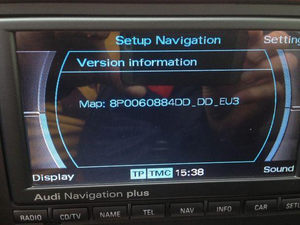 NOU !!! DVD navigatie AUDI RNS-E 2020!!!