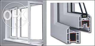 Tamplarie PVC cu geam termopan