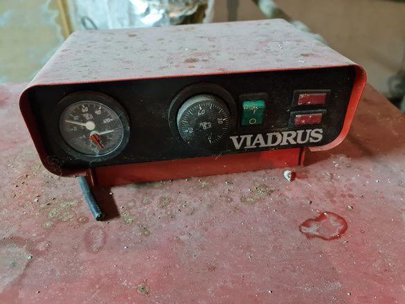 Котел на твърдо гориво/ нафта дизел, марка VIADRUS U22 40KW