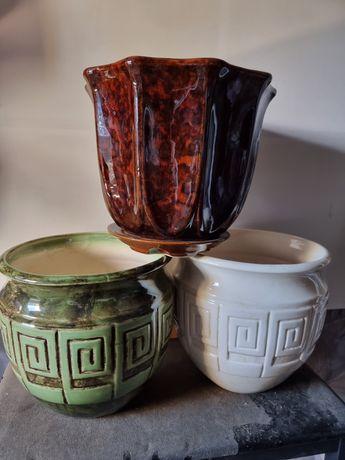Продам керамические горшки для цветов.