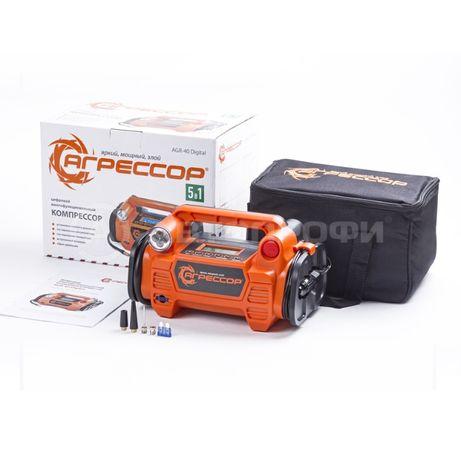 Цифровой компрессор АГРЕССОР «5 в 1» Agressor-40 Digital Автонасос