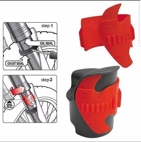 Dispozitiv curățare telescoape suspensie ENDURO Motocross