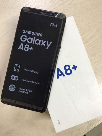 Samsung Galaxy A8 plus, обьем памяти 32гб г Костанай