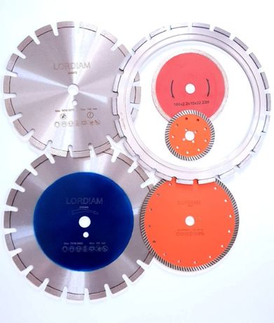 Discuri diamantate pentru taiere beton, zidarie, granit, asfalt