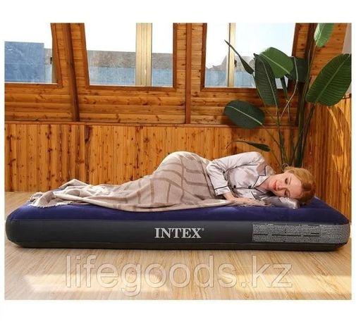 Надувной матрас односпальный 76х191х25 см Fiber-Tech Intex 64756
