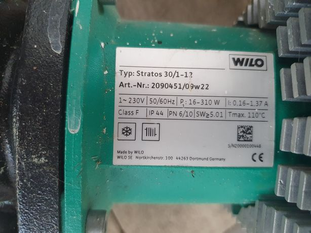 Pompa recirculare wilo Stratos 30/1-12
