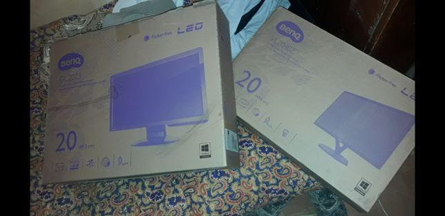 Мониторы новые в упаковке. Модель в коробке. В магазинах 48тыс. Достав