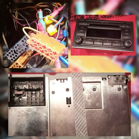 Mufa Player Radio Fabrica AUDI A3 A4 A6 QUADLOCK CONCERT RNS E 40 PIN