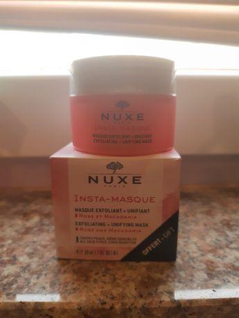 Маска за лице Nuxe с масло от макадамия и роза