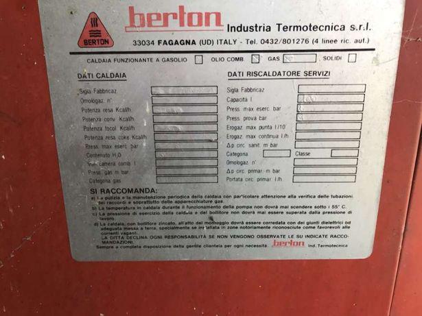 Centrala termica Berton pe combustibil lichid