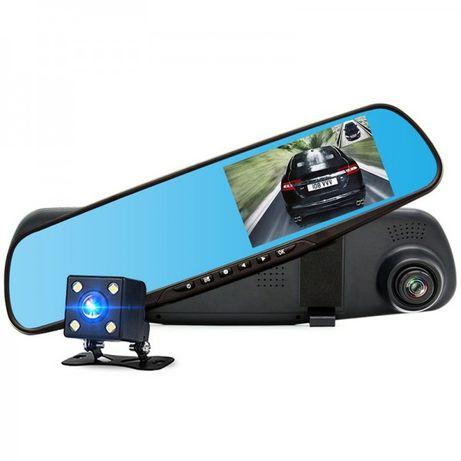 Зеркало видеорегистратор с камерой заднего вида 3в1 Vehicle Blackbox