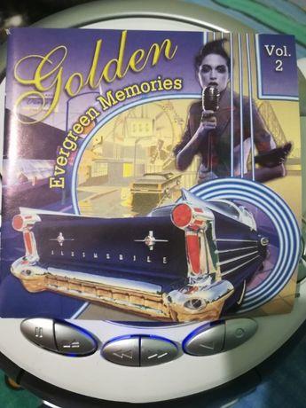 CD Audio Golden Evergreen Memories vol 2