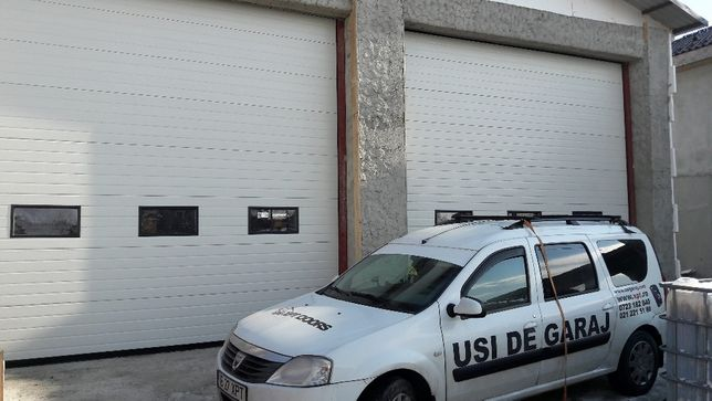 Usi de garaj sectionale industriale de la XPT DOORS