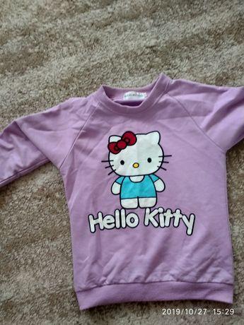 Продам детские вещи:кофта Кити, жилет, платье пони на 5 лет