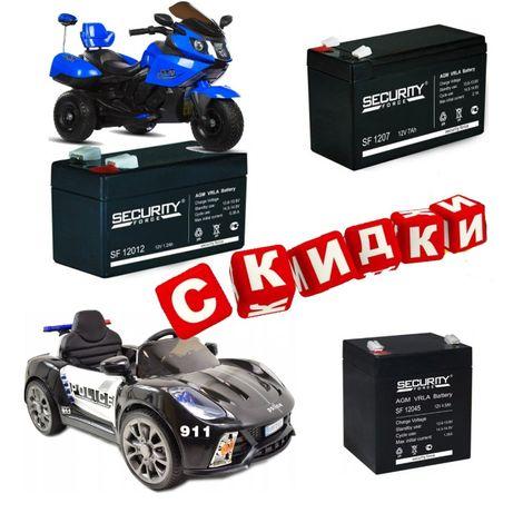 Аккумуляторы для детских машинок-игрушек