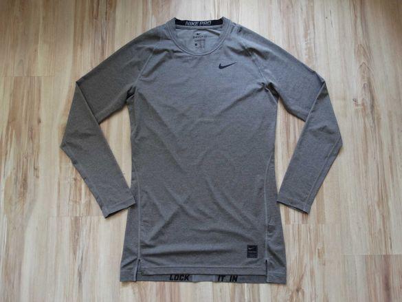 Найк Nike Pro Dri fit Compression мъжка блуза фланела размер M