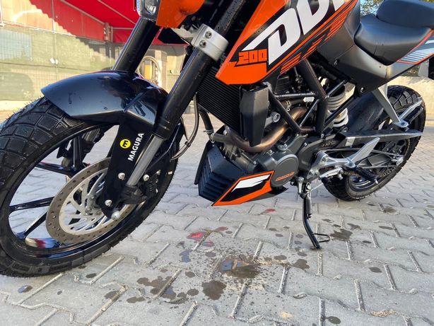 KTM Duke 200 A2 inmatriculat