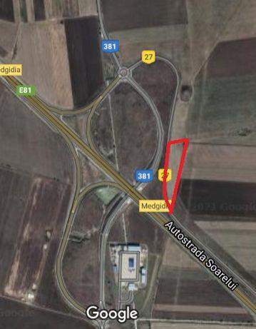 Inchiriere teren autostrada Soarelui A2 13474 mp