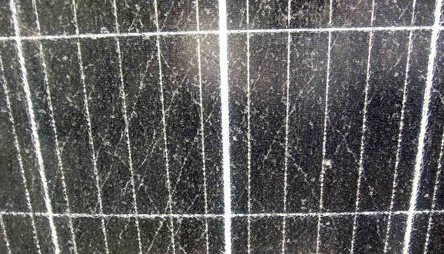 Солнечная батарея 380 Вт. Зарядит аккумулятор. Стекло панели треснуто.