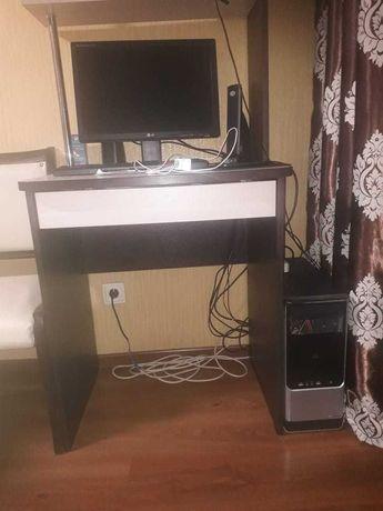 Компьютер+ стол+кресло