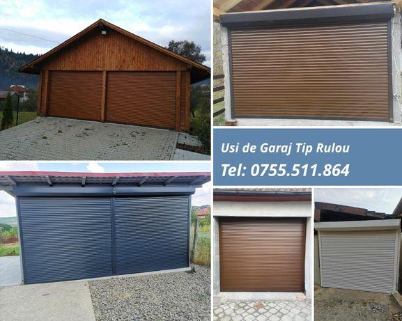 Uși garaj Rulou. Montaj Gratuit !
