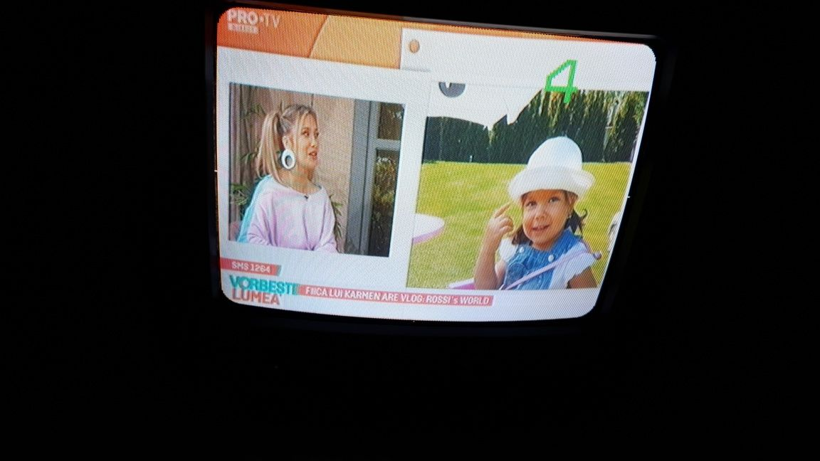 Tv auto la 12V sau 220V, diagonala 26cm