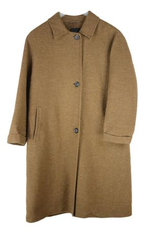 Palton Dama Windsor marimea XL Lana Casmir Bej BY6