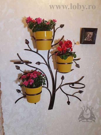 Suport cinci ghivece flori  Copacel