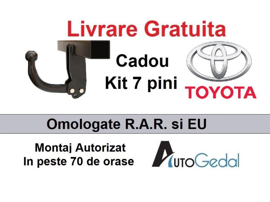 Carlig Remorcare Toyoya Rav4 2013-2018 Livrare Gratuita Omologat RAR