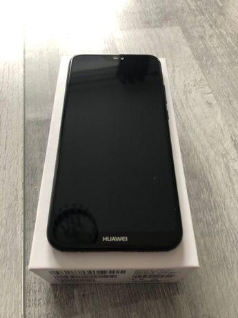 Huawe P20lite negru complet la cutie 2 huse din care una Smart View