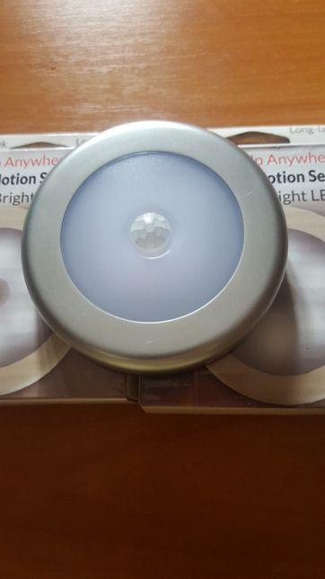 Лампа с датчиком движения на батарейках