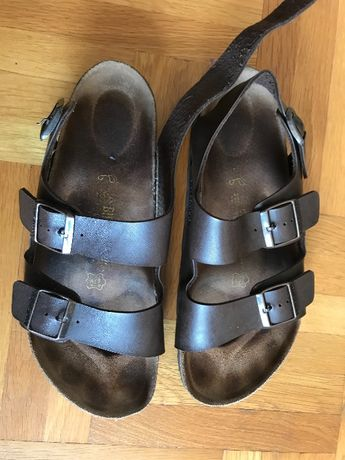 Немски кожени ортопедични мъжки сандали!!!