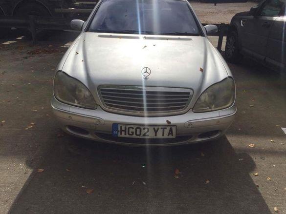 Mercedes W220 s320cdi Мерцедес в220 с320цди на части
