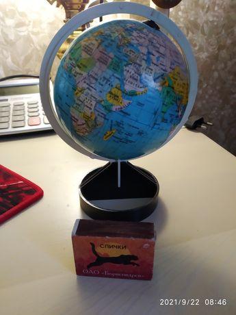 Глобус маленькая модель англ яз