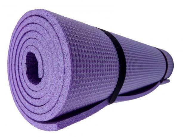 Коврик для йоги и фитнеса в наличии 7 шт толшина 6 мм цвет зеленый