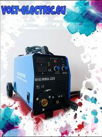 Телоподаващо С Електрожен 220A MIG/MMA Volt Electric Професионално