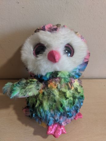 Bufniță multicoloră Beanie Boos Toys