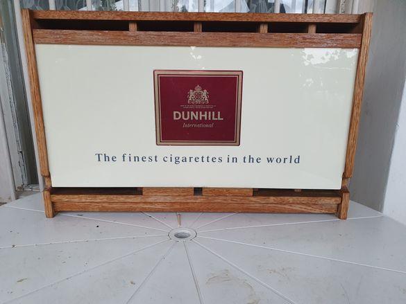 Ретро рекламна кутия за цигари DUNHILL