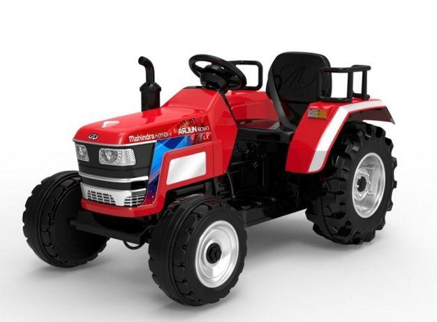 Tractor electric pentru copii cu roti mari BLAZIN POWER LUX (2788 Rosu