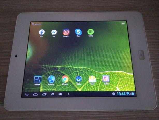 "Tableta alba Allview 2 SpeedDuo, ecran 8"" + husa cu tastatura"