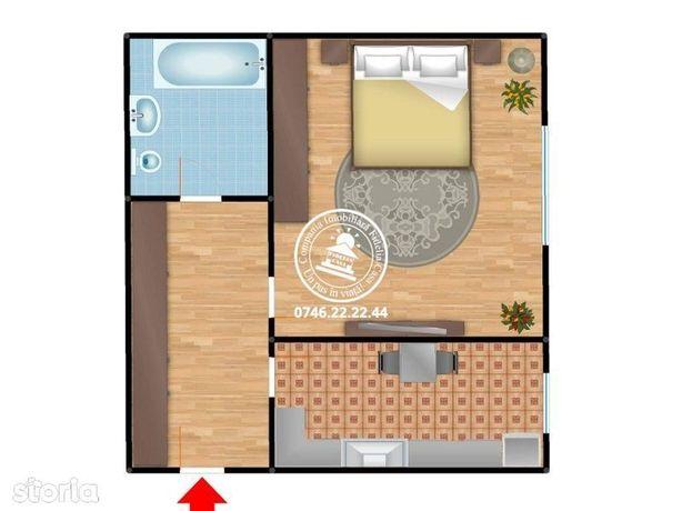 Apartament 1 camera  de vanzare  Gara