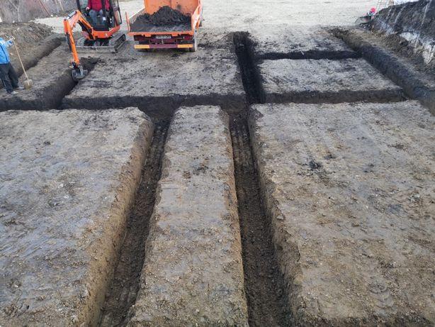 Excavații profesionale cu miniexcavator!