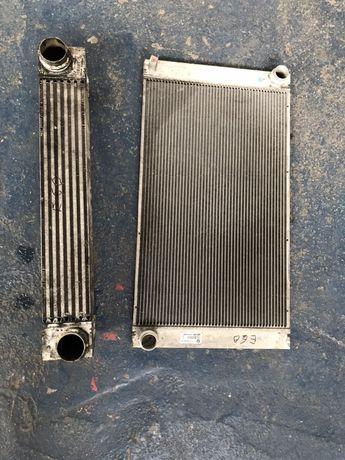 Radiator apa aer ac intercooler bmw e60 e61 2.0d lci 177cp